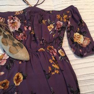 Francesca's Off-Shoulder Dress
